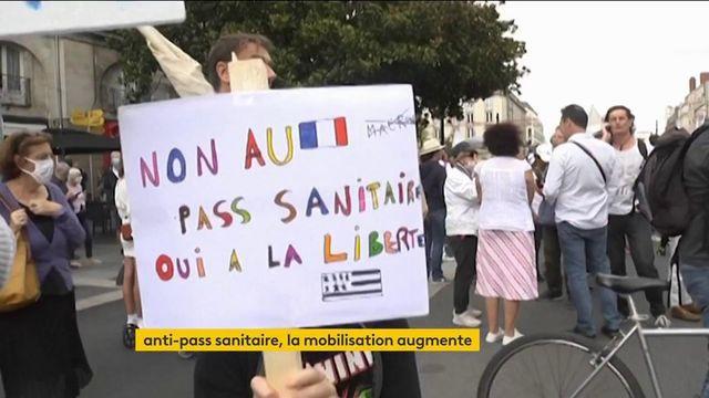 Manifestations anti-pass sanitaire : un mouvement de contestation qui prend de l'ampleur