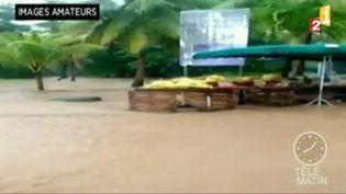 Les inondations en Martinique (France 2)