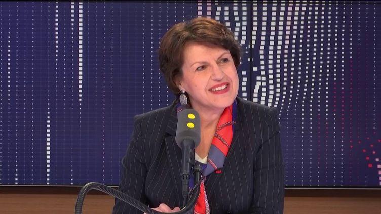 Annie Genevard, députée Les Républicains du Doubs, le 14 février 2019 sur franceinfo. (FRANCEINFO / RADIOFRANCE)