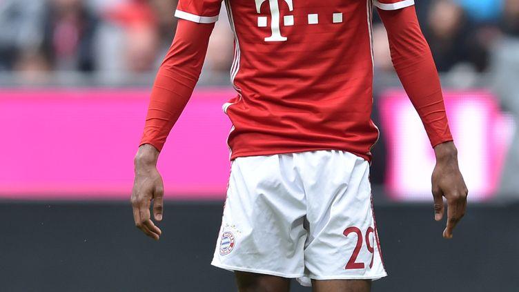 L'attaquant du Bayern Munich, Kingsley Coman (CHRISTOF STACHE / AFP)