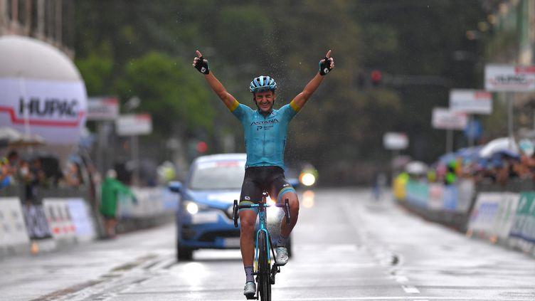 Gorka Izagirre (Astana) remporte le Gran Trittico Lombardo 2020 (TIM DE WAELE / VELO)