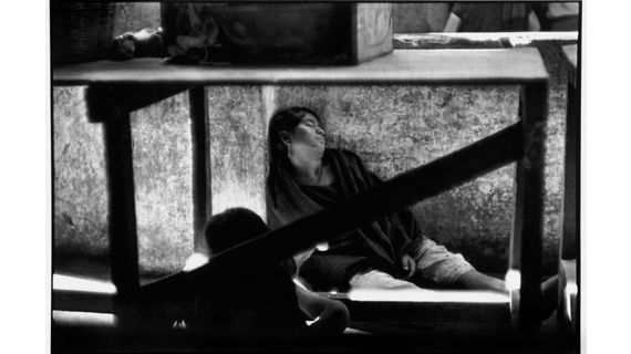 "Henri Cartier-Bresson, ""Juchitan"", Mexique, 1934. (MAGNUM PHOTOS/COURTESY FONDATION HENRI CARTIER-BRESSON)"