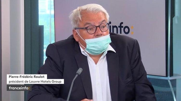 Pierre-Frédéric Roulot à franceinfo le 31 août 2021. (FRANCEINFO / RADIOFRANCE)
