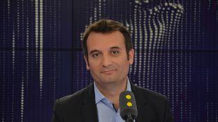 Florian Philippot, vice-président du FN. (RADIO FRANCE / JEAN-CHRISTOPHE BOURDILLAT)