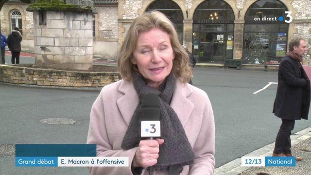 Grand débat : grand oral d'Emmanuel Macron devant les maires d'Occitanie