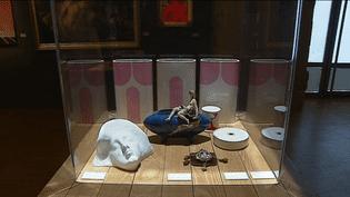 Oeuvre exposée durant l'exposition Pêle Mêle  (France 3 / culturebox)
