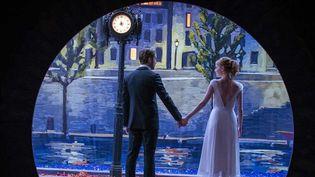 "Ryan Gosling et Emma Stone dans ""La La land"" de Damien Chazelle.   (SND)"