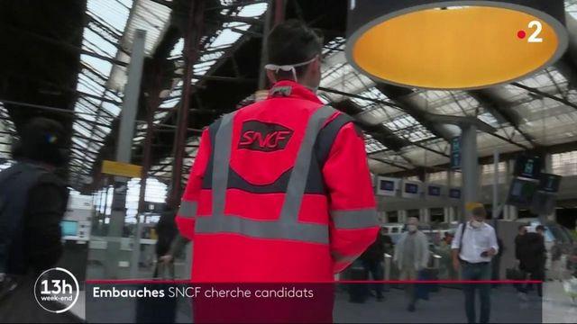 Emploi: la SNCF recrute 2 000 personnes