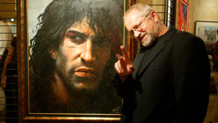 Le créateur de la bande dessinée Thorgal, Grzegorz Rosinski, à Paris. (MAXPPP)