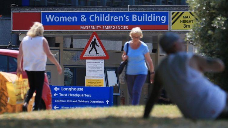 L'hôpital de Chester, dans le nord-ouest de l'Angleterre, le 5 juillet 2018. (LINDSEY PARNABY / AFP)