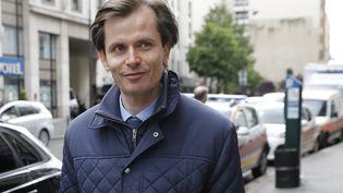 Le député LR Guillaume Larrivé arrive à une réunion des Républicains, le 2 mai 2017 à Paris. (PATRICK KOVARIK / AFP)
