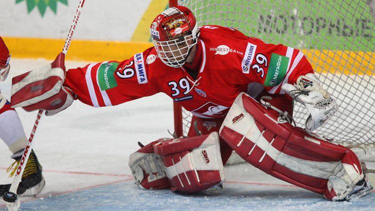 Dominik Hasek sous le maillot du Spartak