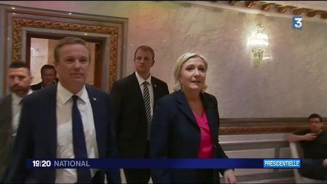 M. Le Pen/ N. Dupont-Aignan : un accord gouvernemental inédit