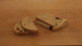 Du faux gras, une alternative végan au foie gras; (ROBIN PRUDENT / FRANCEINFO)