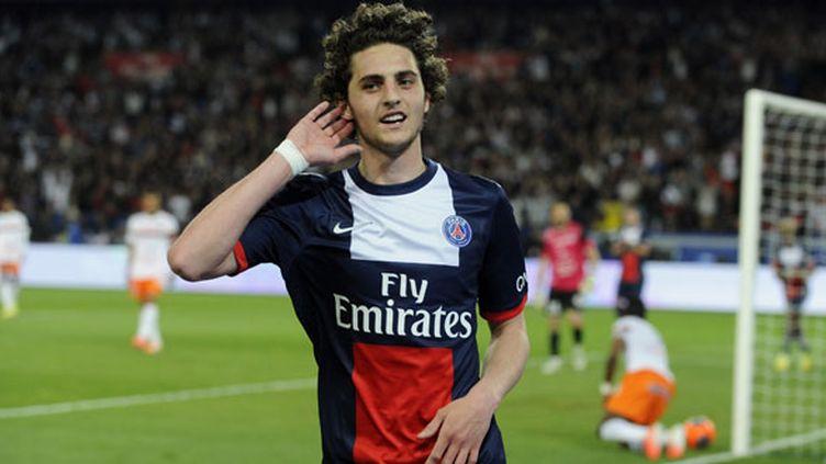 Le jeune joueur du PSG Adrien Rabiot