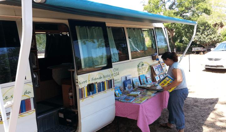 L'expérience a été lancée à partir de l'exemple de la Caravane du livre en Afrique. (Photo le Van du livre)
