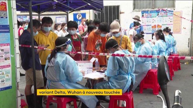 Chine : foyer de l'épidémie de Covid-19, la ville de Wuhan fait de nouveau face à des contaminations