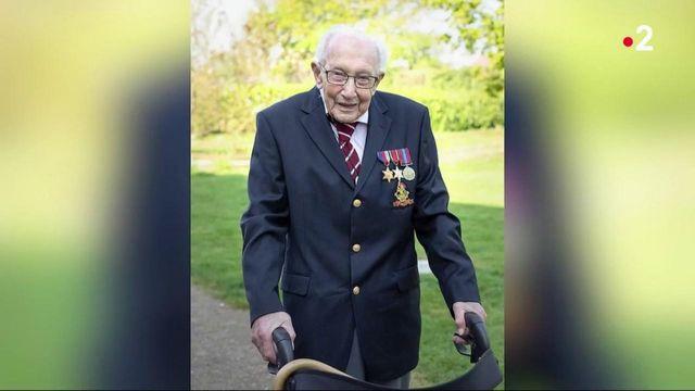 Royaume-Uni : Tom Moore, héro centenaire, est malade du coronavirus