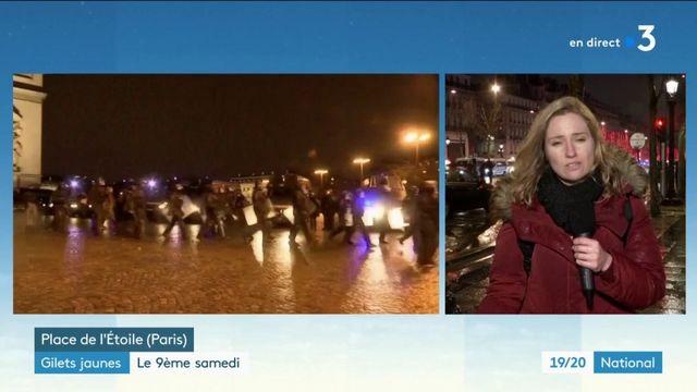 """""""Gilets jaunes"""" : le calme est revenu à Paris"""