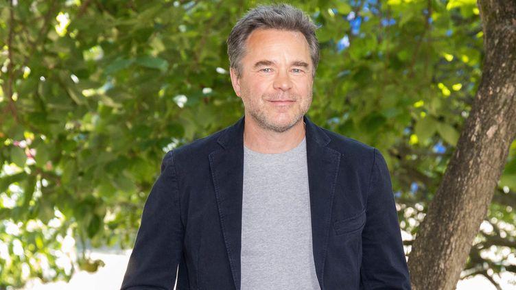 L'acteur Guillaume de Tonquédec lors du 14e festival du film francophone d'Angoulême, le 27 août 2021. (YOHAN BONNET / AFP)