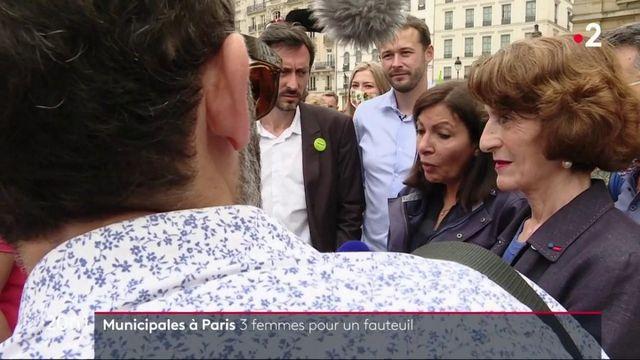 Municipales à Paris : trois femmes luttent pour la mairie