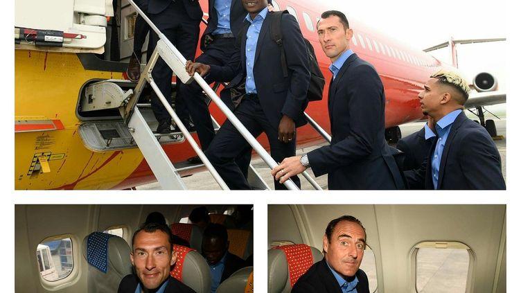Les joueurs d'Ostende bloqués pour aller à Marseille