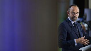 Le Premier ministre, Edouard Philippe, le 4 octobre 2019, à Paris. (IAN LANGSDON / POOL / AFP)