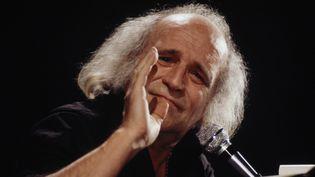 Léo Ferré en février 1978  (ROBERT PICARD / Ina)