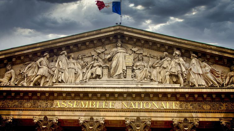 L'Assemblée nationale, à Paris, le 8 juin 2020. (BERNARD JAUBERT / ONLY FRANCE / AFP)