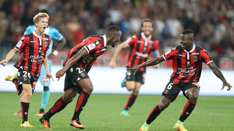 La jeunesse Niçoise impériale en Ligue 1 (VALERY HACHE / AFP)