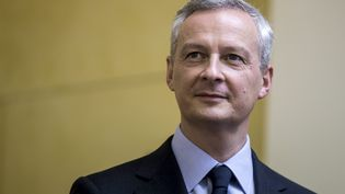 Bruno Le Maire, le 27 novembre 2016, lors de la victoire de François Fillon dansla primaire de la droite et du centre, à Paris. (MAXPPP)