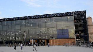 Le MuCEM, galerie de la Méditerranée, à Marseille (8 juin 2013)  (PhotoPQR / La Provence / Cyril Sollier)