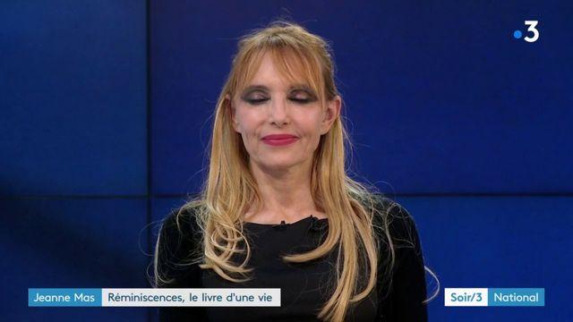 """La chanteuse Jeanne Mas revient avec un livre, """"Réminiscences"""""""