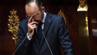 Le Premier ministre à l'Assemblée nationale, à Paris, le 12 juin 2019. (ALAIN JOCARD / AFP)