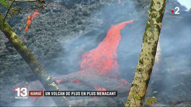 Hawaï : le volcan Kilauea est de plus en plus menaçant