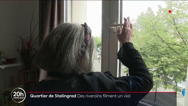 Paris : des riverains du quartier Stalingrad filment un viol