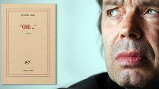 """Oh..."", Philippe Djian / Edition Gallimard  (Gabriel Bouys / AFP)"