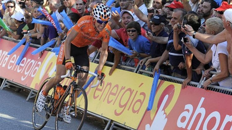 L'un des Espagnols d'Euskaltel Igor Anton