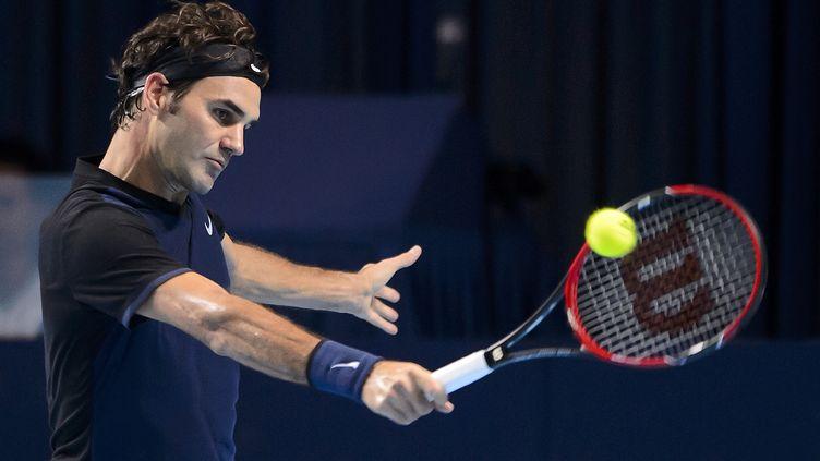 Roger Federer est en forme en fin de saison. (FABRICE COFFRINI / AFP)
