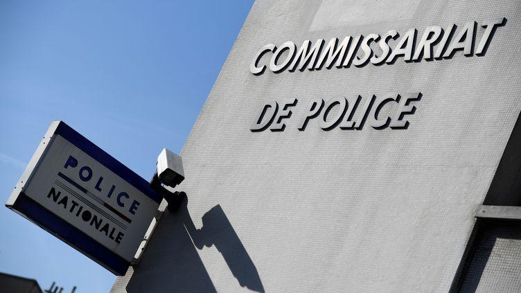 Le commissariat de police des Lilas en Seine-Saint-Denis (illustration). (BERTRAND GUAY / AFP)
