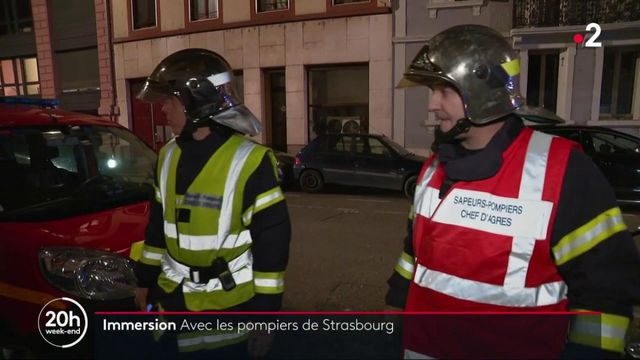 Découverte : en immersion avec les pompiers de Strasbourg