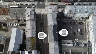 Boulogne-sur-Mer (Pas-de-Calais) et Saint-Étienne (Loire) ont mis en place des stratégies pour attirer les commerces dans les centres-villes. (FRANCE 2)