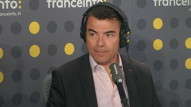 Vincent Rodriguez, directeur des sports de Radio France, était l'un des deux invités médias du lundi 8 juillet 2019. (FRANCEINFO / RADIOFRANCE)