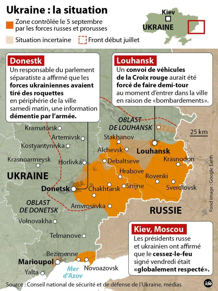 (Le point sur le rapport de force dans l'est du pays © Idé)