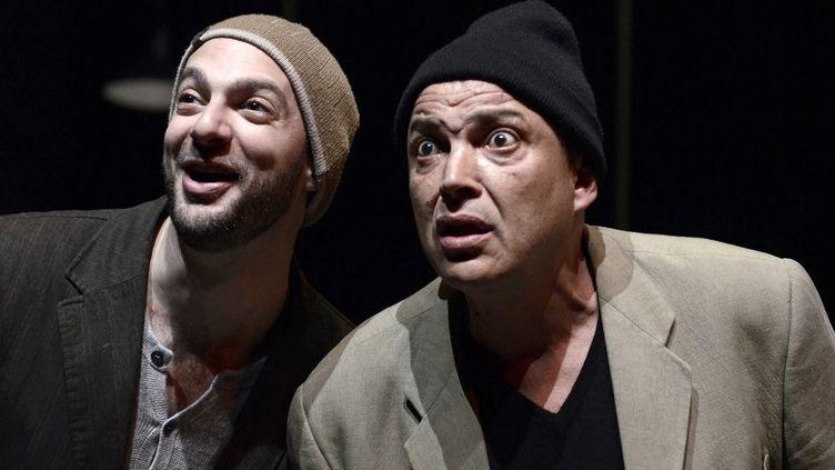 Ahmed (Hammou Graïa) et son ami dans Tout un Homme de Jean-Paul Wenzel  (Eric Didym)