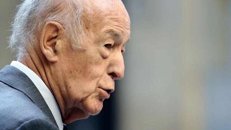 L'ancien président de la République,Valery Giscard d'Estaing, le 19 septembre 2011, à Paris. (MIGUEL MEDINA / POOL)