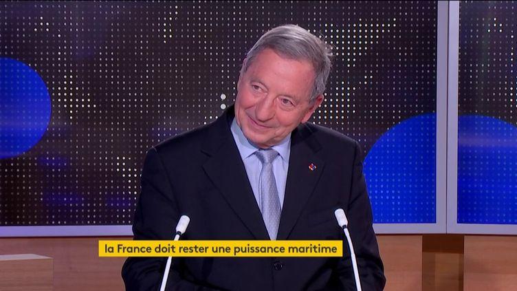 L'amiral Alain Coldefy (FRANCEINFO)