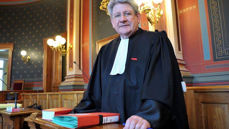 Michel Gonelle, à la cour d'assises d'Agen, le 19 décembre 2012. (MAXPPP)