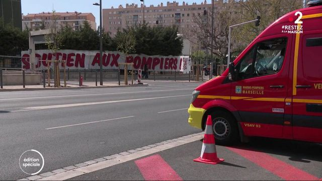 Coronavirus : les marins-pompiers de Marseille sur le front
