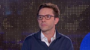 Justin Vaisse, directeur et fondateur du Forum sur la paix (FRANCEINFO)